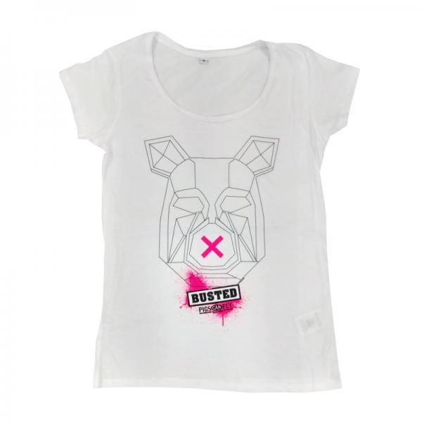 Buy Online Busted - Ladies Pig T-Shirt