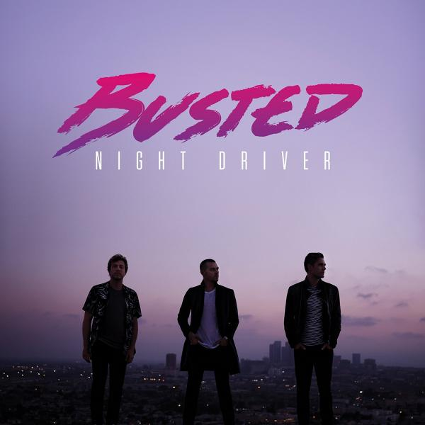 Buy Online Busted - Night Driver CD Album (SIGNED)