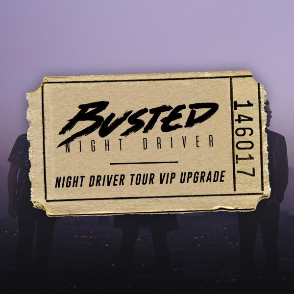 Buy Online Busted - Night Driver Tour VIP Upgrade