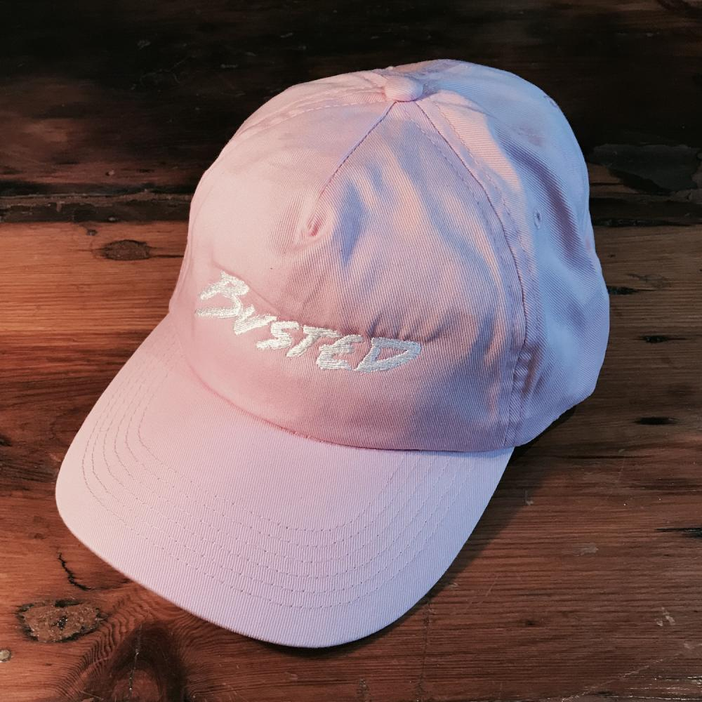Buy Online Busted - Pink Busted Logo Cap
