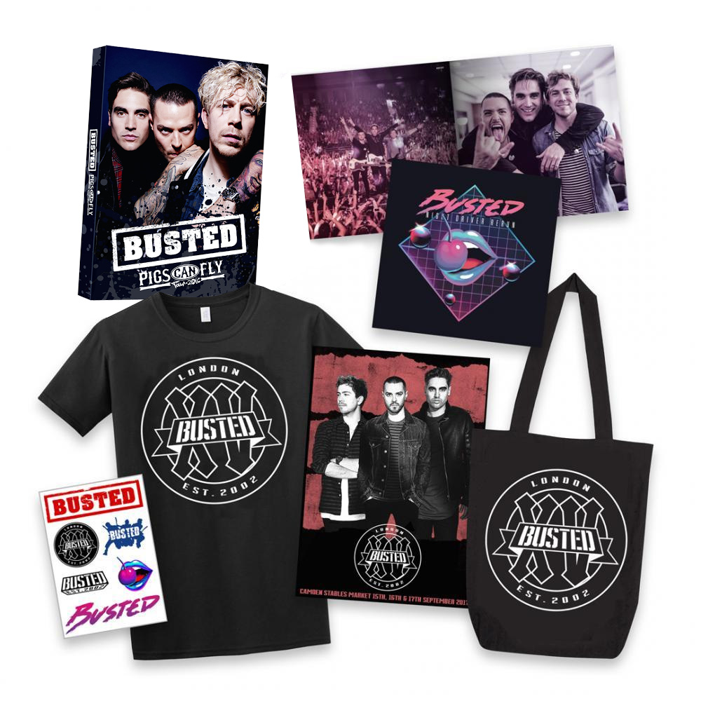 Buy Online Busted - Pigs Can Fly DVD + XV Bundle