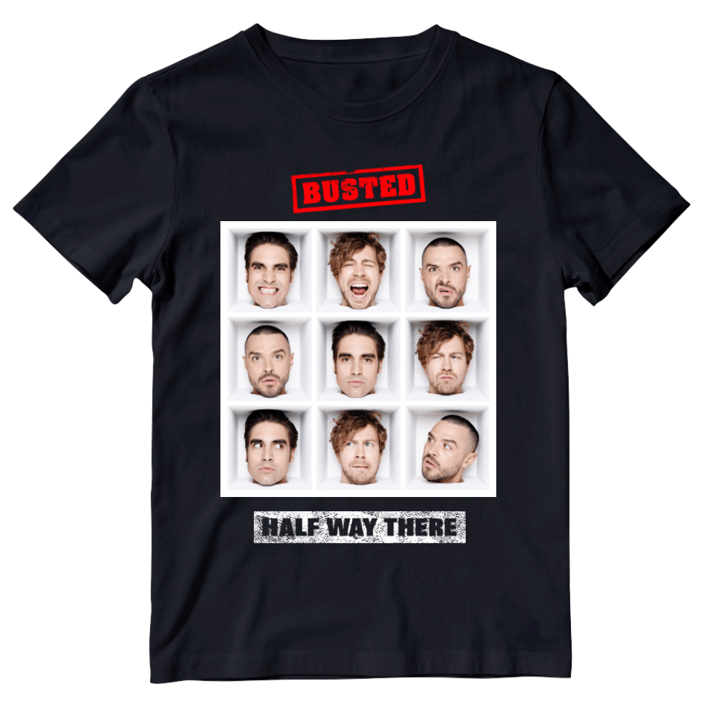 Buy Online Busted - Half Way There T-Shirt