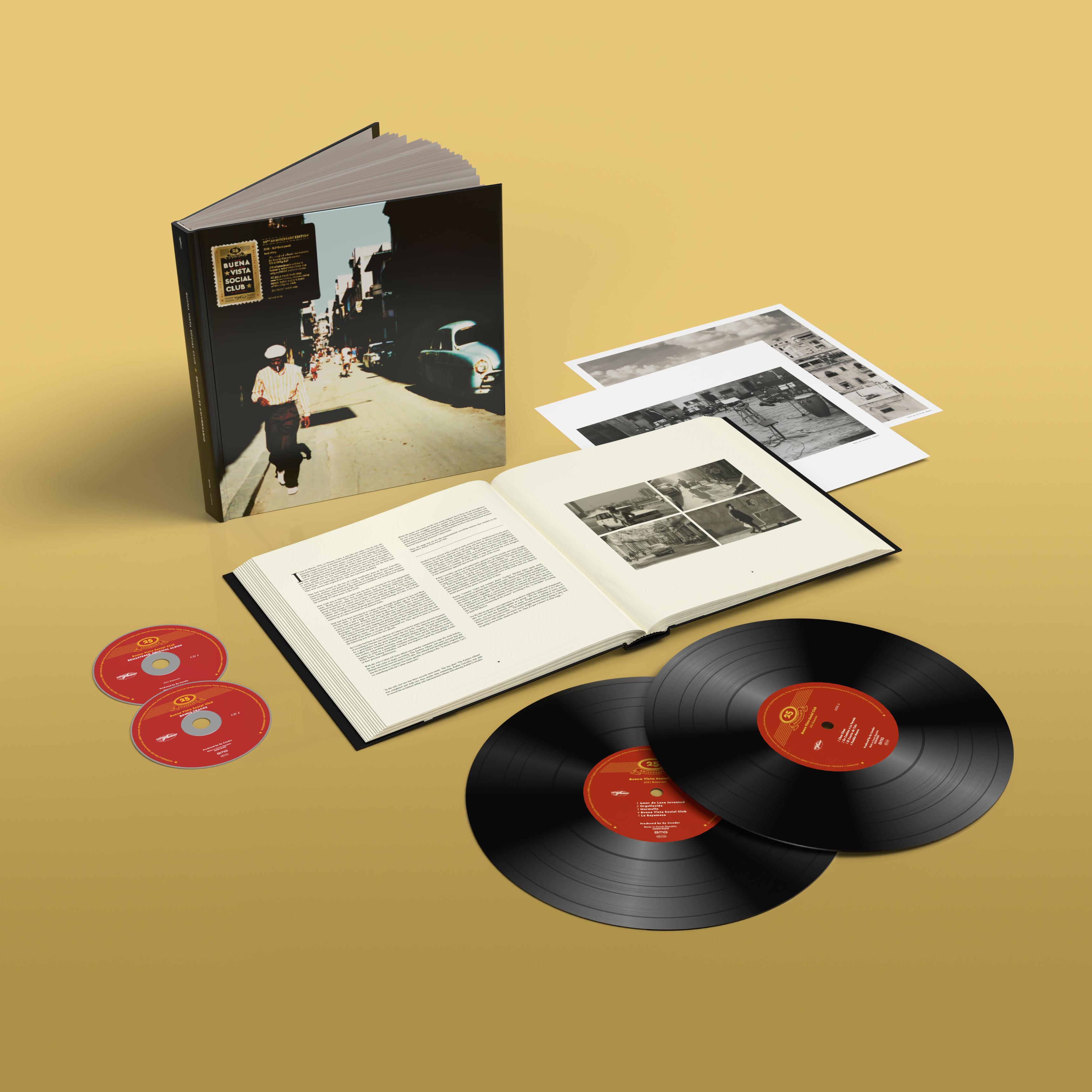 Buy Online Buena Vista Social Club - 25th Anniversary Edition 2LP + 2CD Deluxe Bookpack