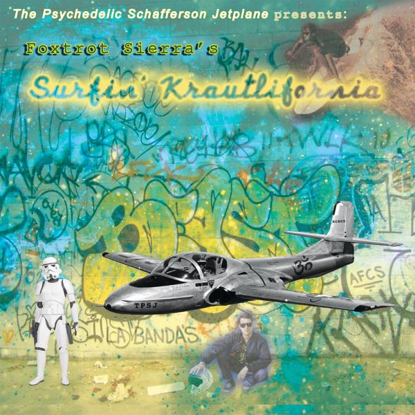 Buy Online The Psychedelic Schafferson Jetplane - Surfin' Krautlifornia LP