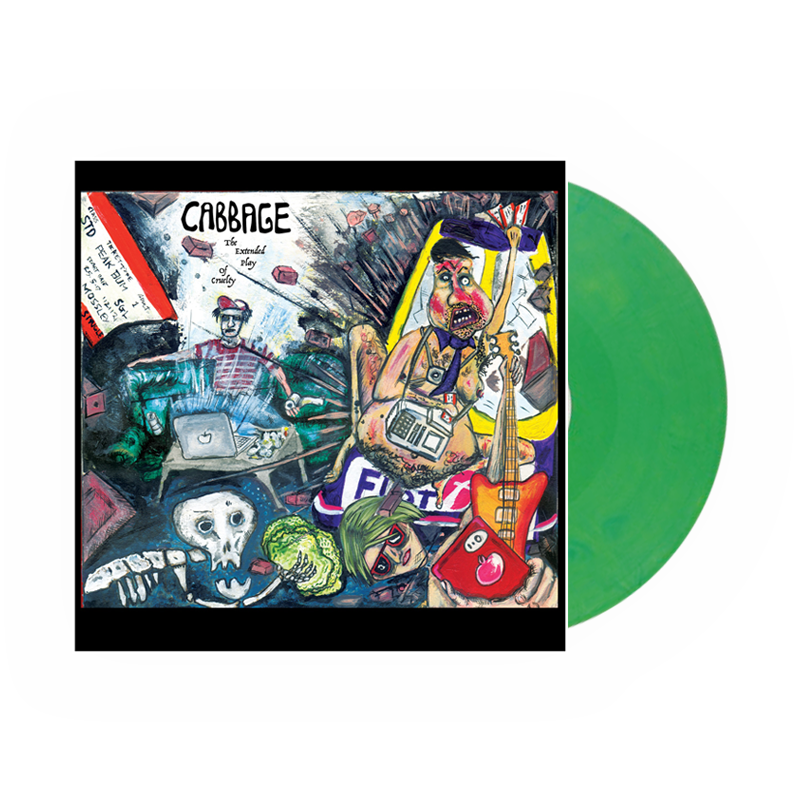 Buy Online Cabbage - The Extended Play Of Cruelty Green Vinyl