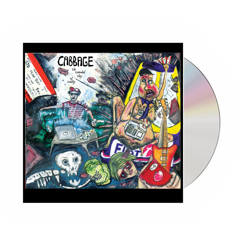Buy Online Cabbage - The Extended Play Of Cruelty (Signed)