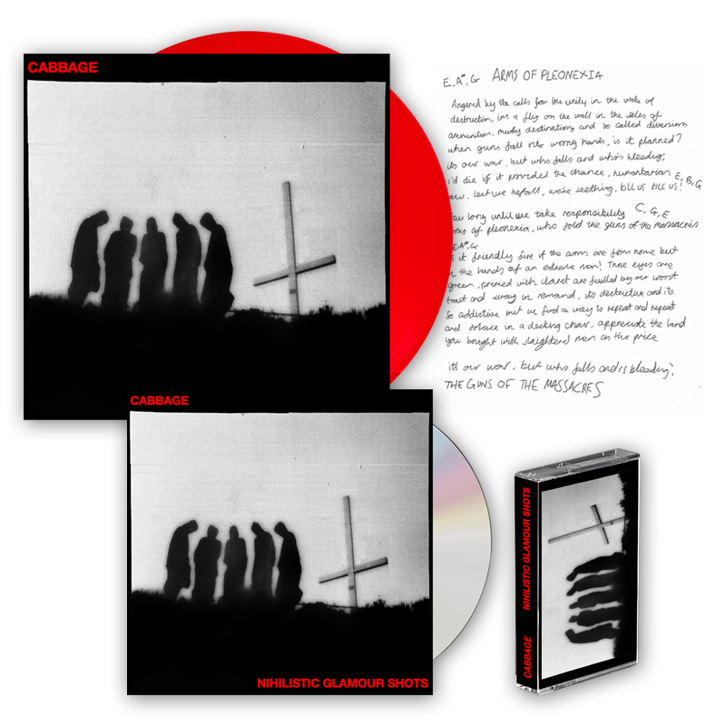 Buy Online Cabbage - Nihilistic Glamour Shots Album Bundle (Signed)