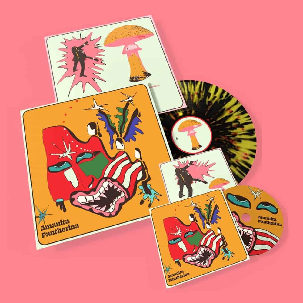 Buy Online Cabbage - Amanita Pantherina CD + Vinyl
