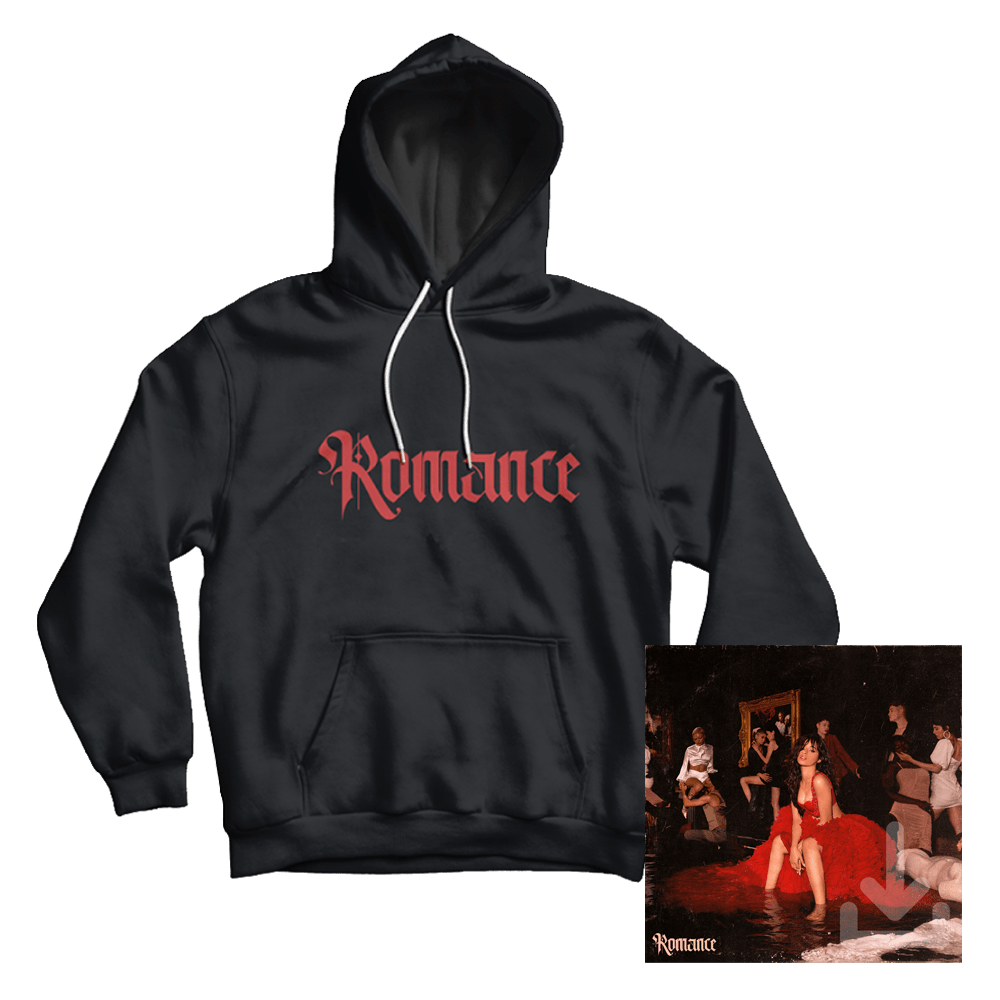 Buy Online Camila Cabello - Romance Digital Album + Hoody