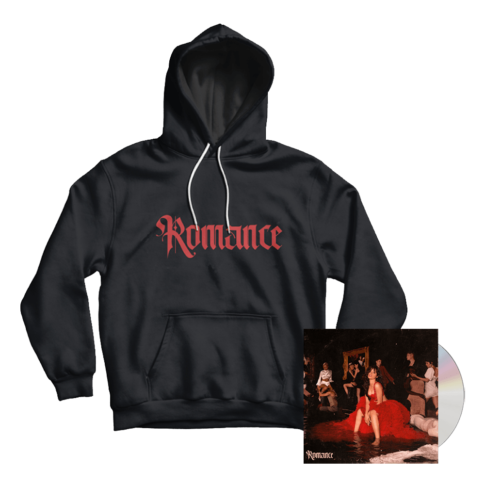 Buy Online Camila Cabello - Romance CD Album + Hoody