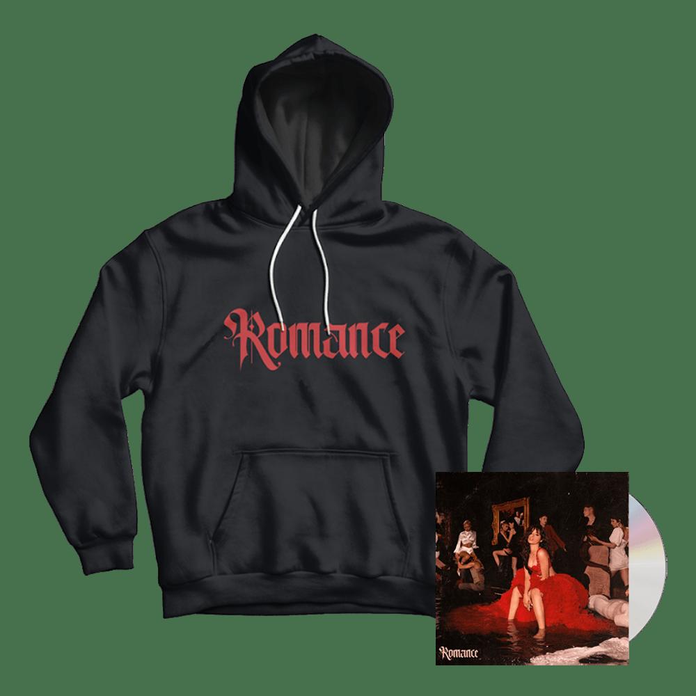 Buy Online Camila Cabello - Romance CD Album + Hoody