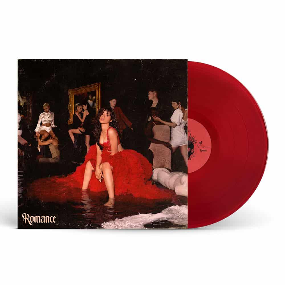Camila Cabello Romance Translucent Red Double Vinyl Tm Stores