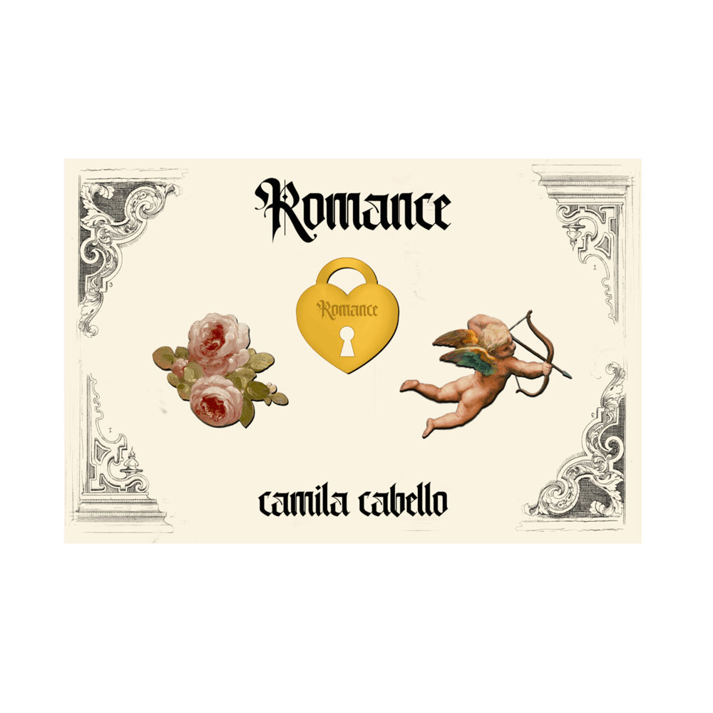 Buy Online Camila Cabello - Romance Enamel Pin Set