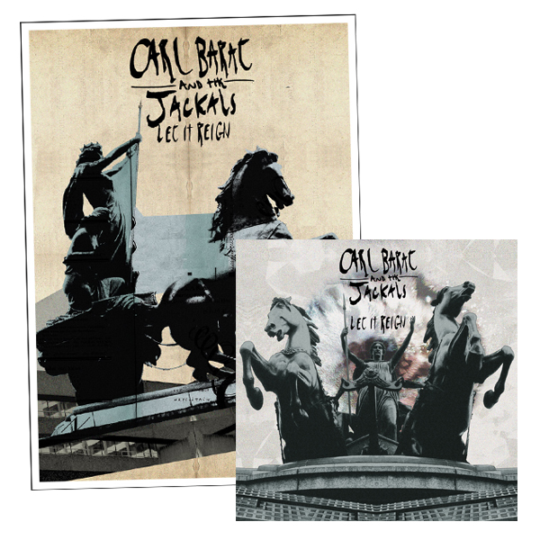 Buy Online Carl Barat & The Jackals - Let It Reign 12-Inch Vinyl Album + Art Print