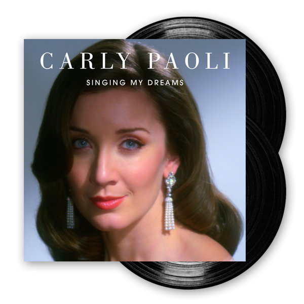 Buy Online Carly Paoli - Singing My Dreams Double Vinyl LP (Signed, Ltd Quantity)