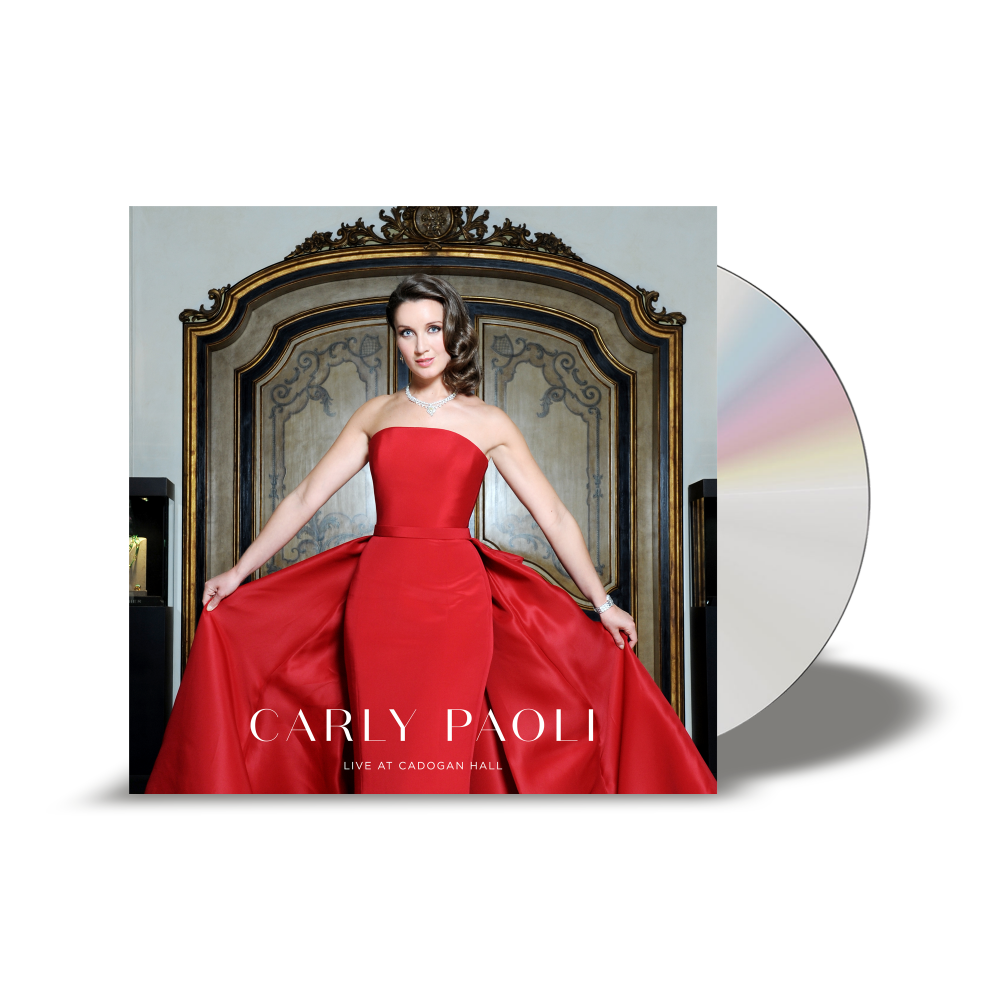 Buy Online Carly Paoli - Live at Cadogan Hall CD
