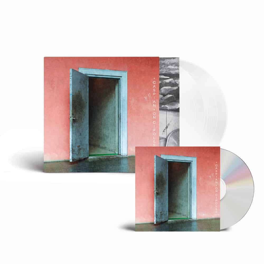 Buy Online Caspian - On Circles CD + Double White Vinyl