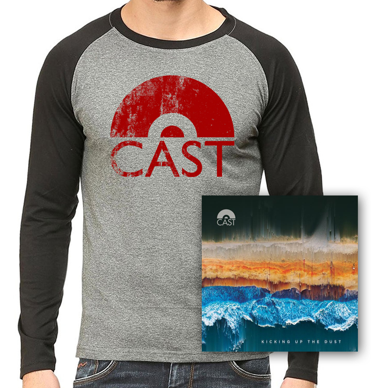 Buy Online Cast - Kicking Up The Dust Double Vinyl LP + Vintage Baseball T-Shirt