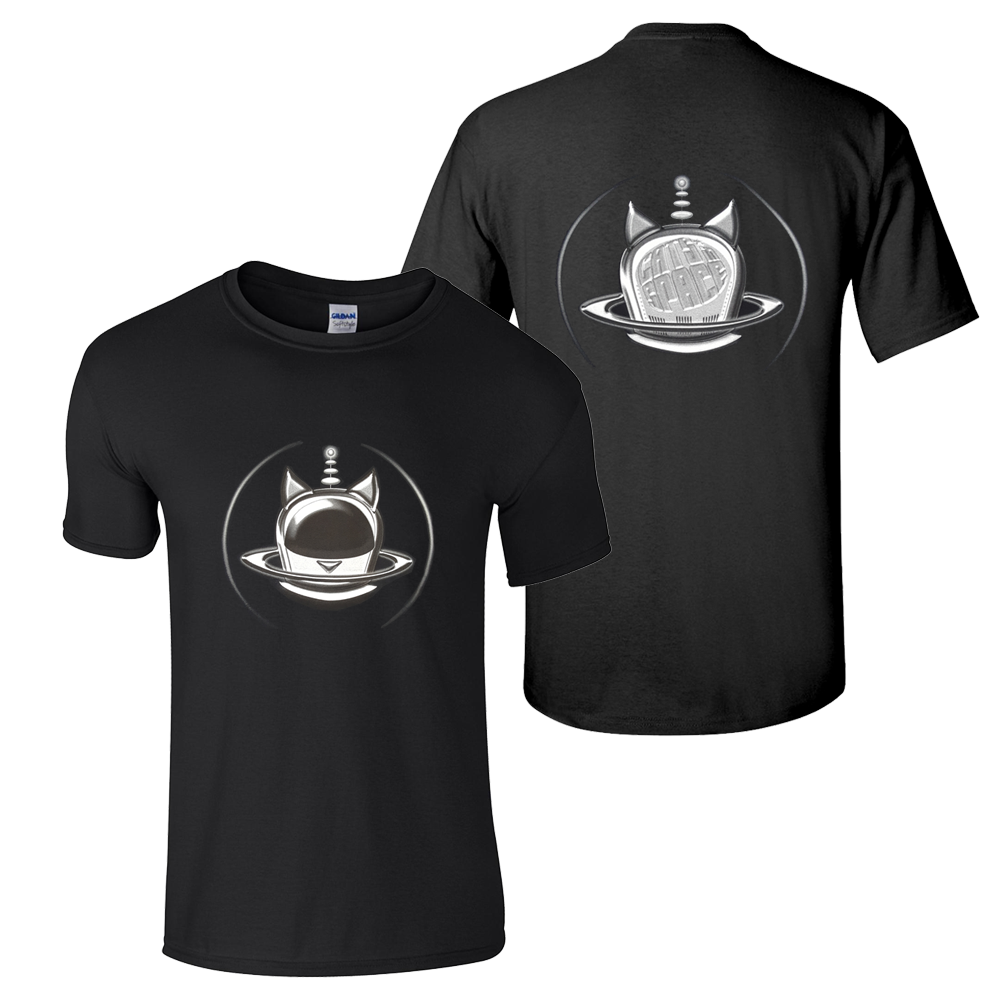 Buy Online Cats In Space - Silver Halo T-Shirt