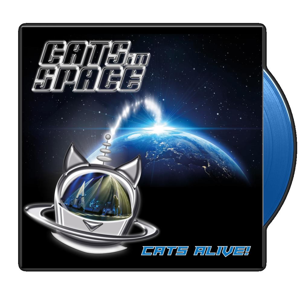 Buy Online Cats In Space - Cats Alive! - Blue Vinyl