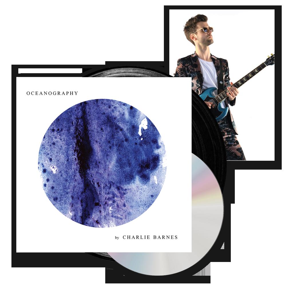 Buy Online Charlie Barnes - Oceanography (w/ CD Insert) + Signed Postcard