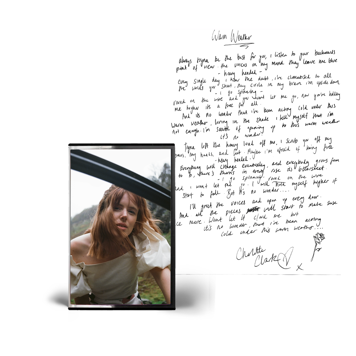 Buy Online Charlotte Clark - Warm Weather (Inc Lyric Sheet)