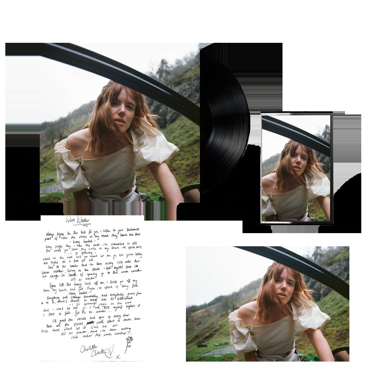 Buy Online Charlotte Clark - Warm Weather Vinyl 12-Inch EP (Signed) + Cassette