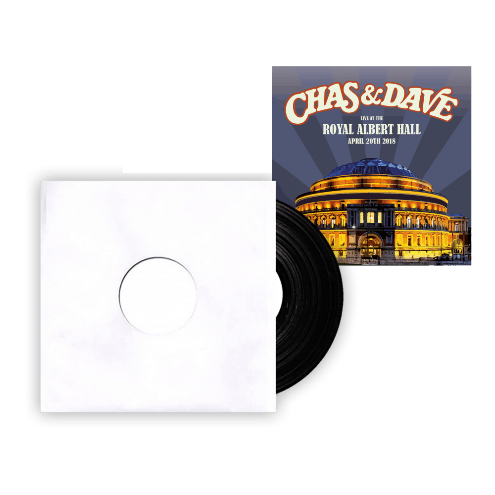 Buy Online Chas & Dave - A Little Bit of Us Signed Test Pressing + Signed Royal Albert Hall Art Print