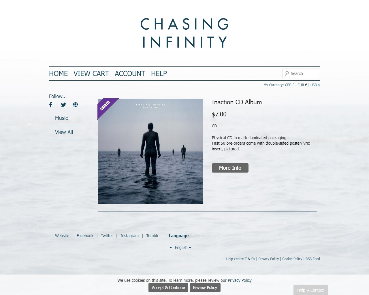 Chasing Infinity