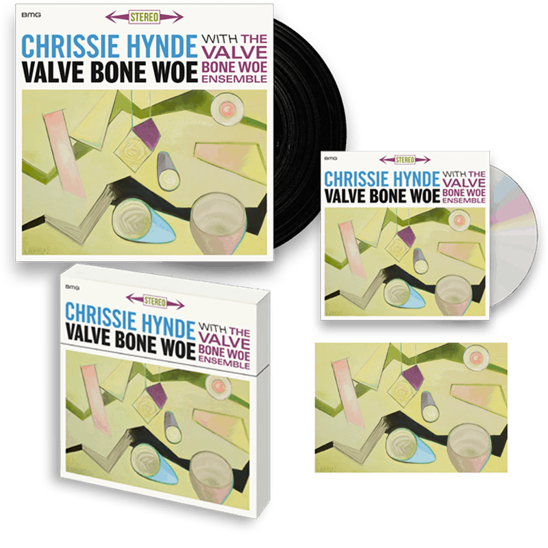 Buy Online Chrissie Hynde & The Valve Bone Woe Ensemble - Valve Bone Woe CD + Vinyl + Boxset + Limited Signed Album Print