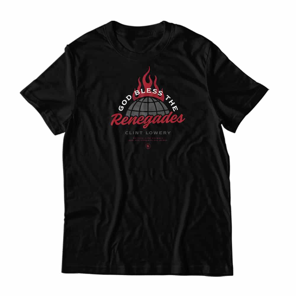 Buy Online Clint Lowery - Renegades T-Shirt