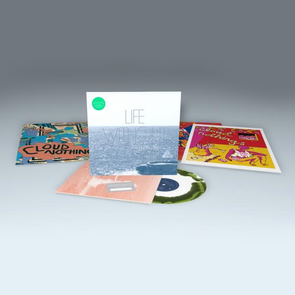 Buy Online Cloud Nothings - Life Without Sound Green & White Marble