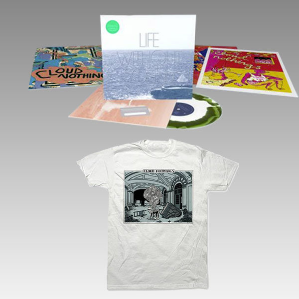 Buy Online Cloud Nothings - Ltd Edition 180g Green & White Marbled Vinyl + T-shirt Bundle