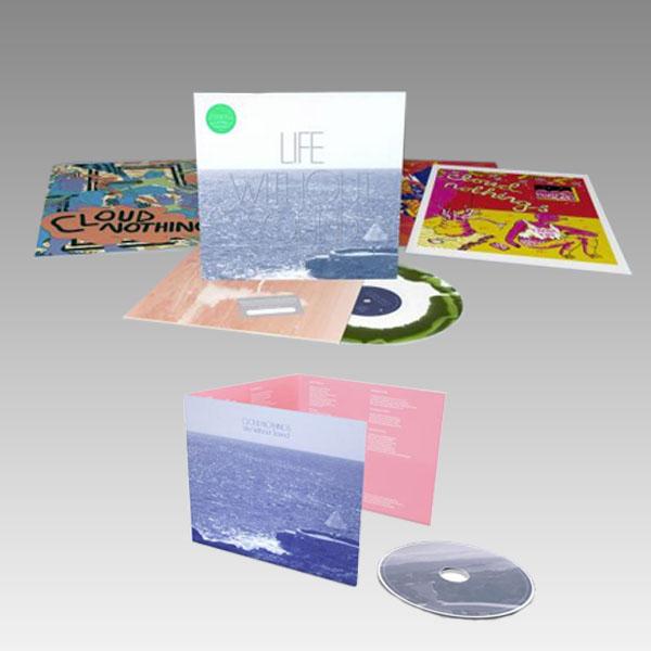 Buy Online Cloud Nothings - Life Withour Sound CD + Vinyl Bundle
