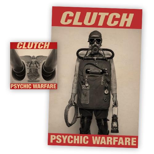 Buy Online Clutch - Psychic Warfare