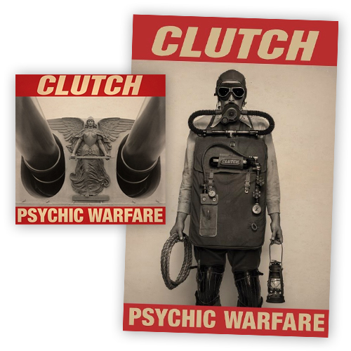 Buy Online Clutch - Psychic Warfare Blue