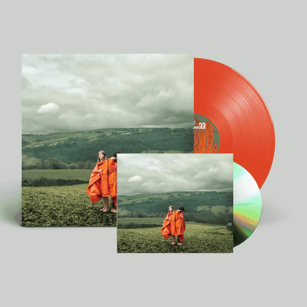 Buy Online Cobalt Chapel - Orange Synthetic - CD and Vinyl Bundle (Signed)