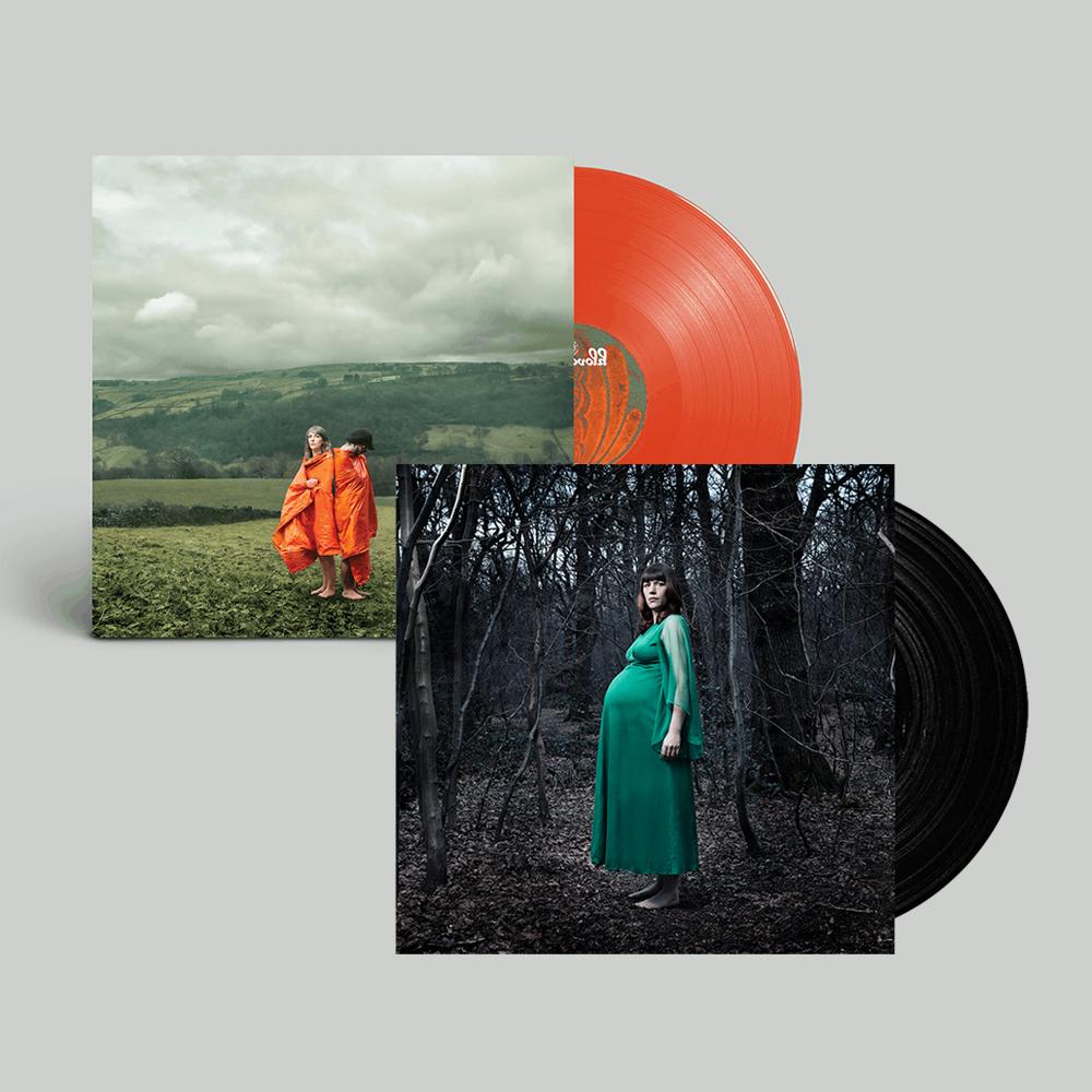 Buy Online Cobalt Chapel - Cobalt Chapel + Orange Synthetic - Vinyl Bundle (Signed)
