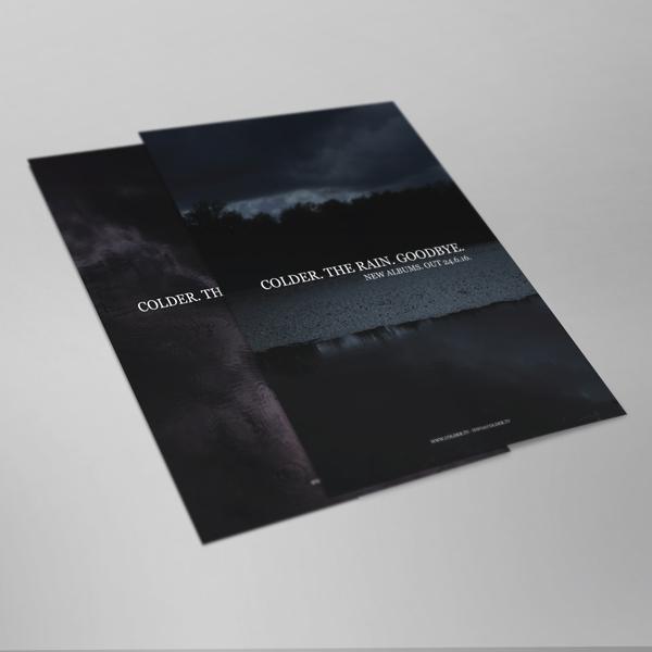 Buy Online Colder - Goodbye. The Rain. Poster