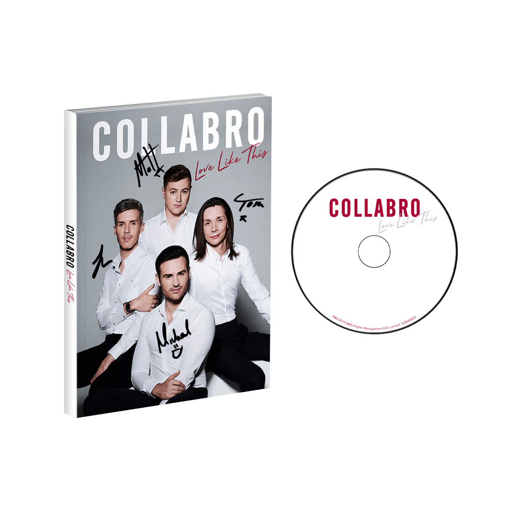 Buy Online Collabro - Love Like This Signed Deluxe