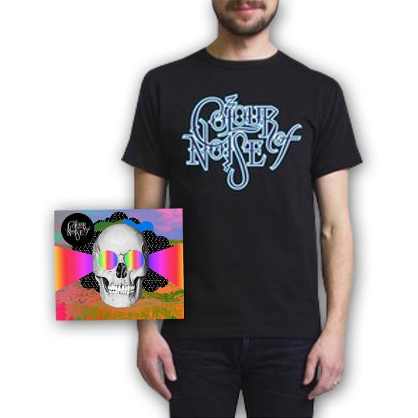 Buy Online Colour Of Noise - Colour Of Noise CD + Logo T-Shirt
