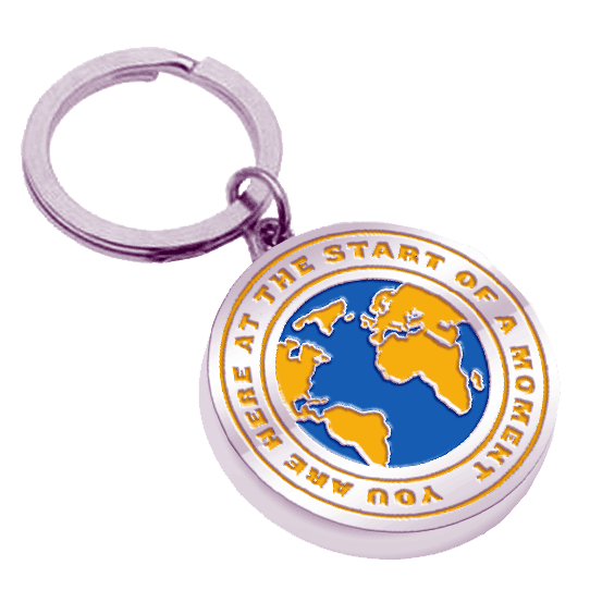 Buy Online Come from Away London - Globe Keychain