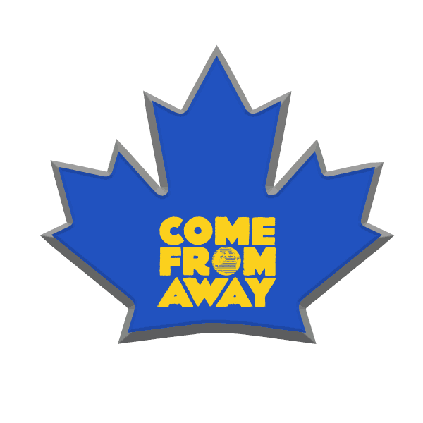 Buy Online Come from Away London - Lapel Pin
