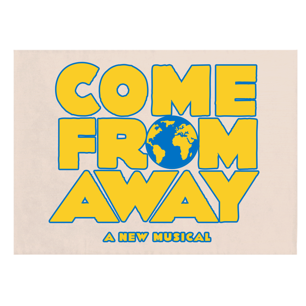 Buy Online Come from Away London - Tea Towel