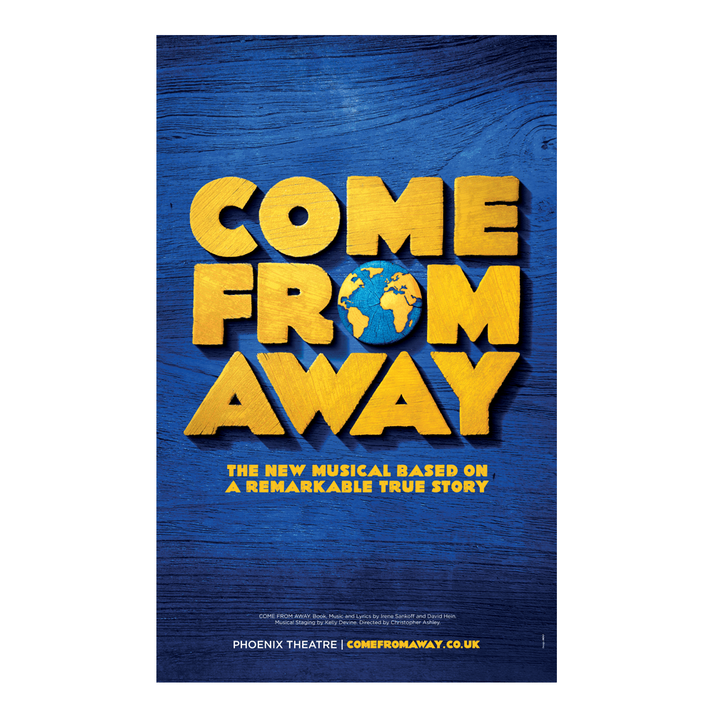 Buy Online Come from Away London - Poster