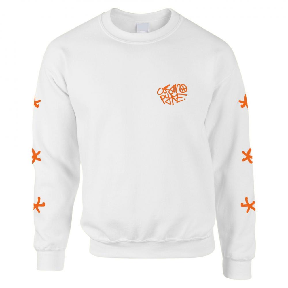 Buy Online Cosmo Pyke - White Sweatshirt