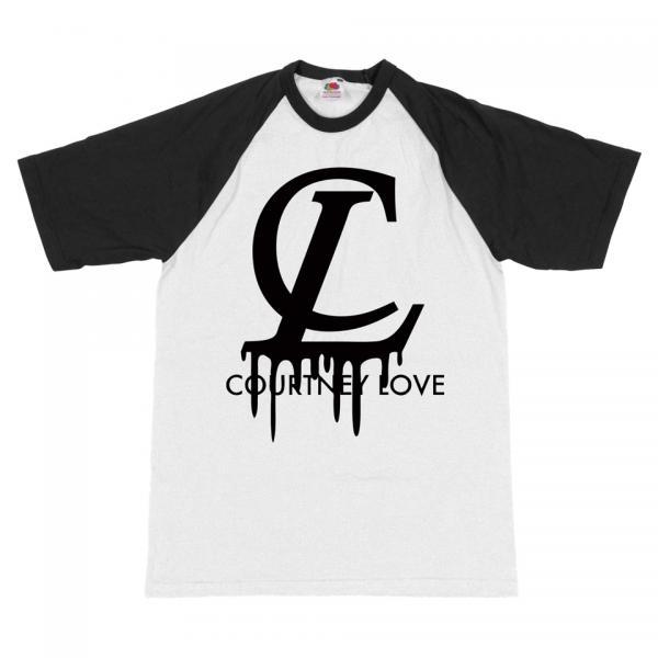 Buy Online Courtney Love - Vuitton Baseball T-Shirt