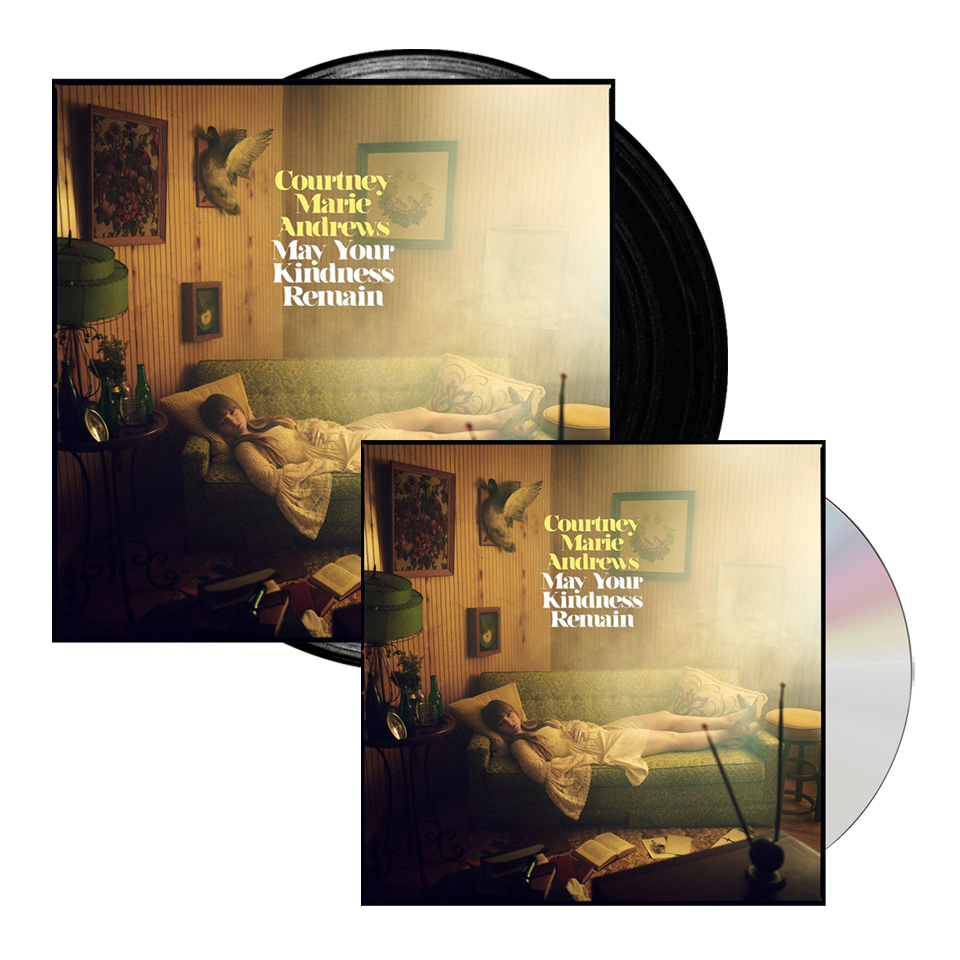 Buy Online Courtney Marie Andrews - May Your Kindness Remain Black Vinyl + CD Album