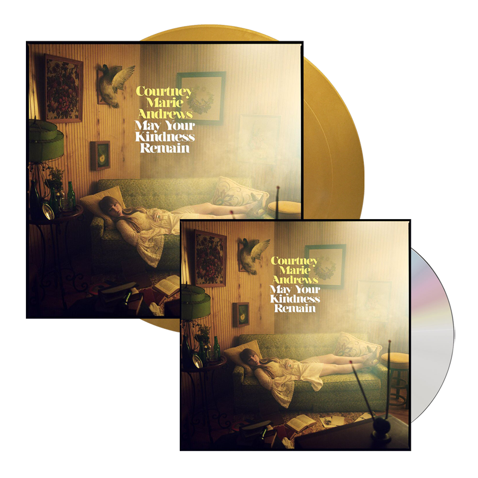 Buy Online Courtney Marie Andrews - May Your Kindness Remain Gold Vinyl + CD Album