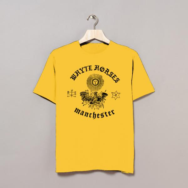 Buy Online Whyte Horses - Manchester Yellow T-Shirt